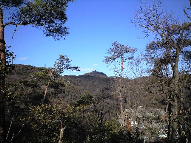 岐阜城が遠い.JPG